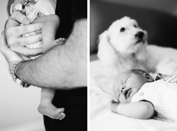 Cleveland Lifestyle Newborn Photography