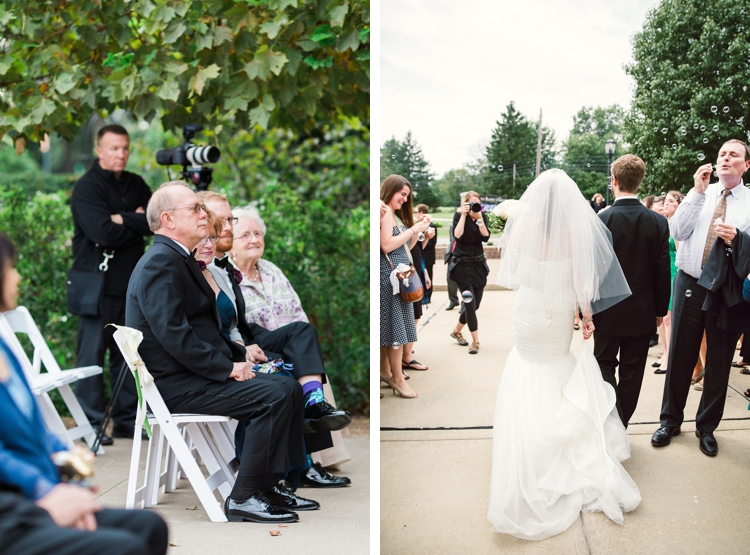 Behind the scenes wedding photography