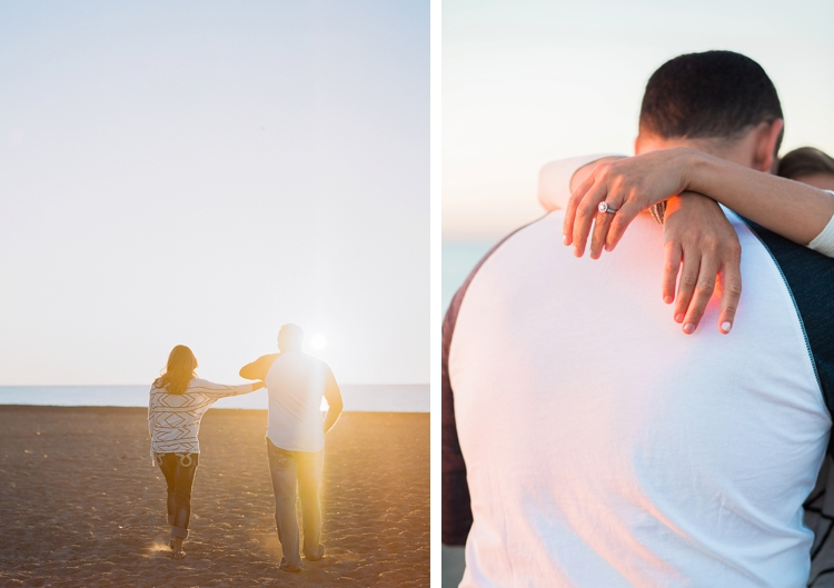 Cleveland Ohio Lake Erie Engagement Session