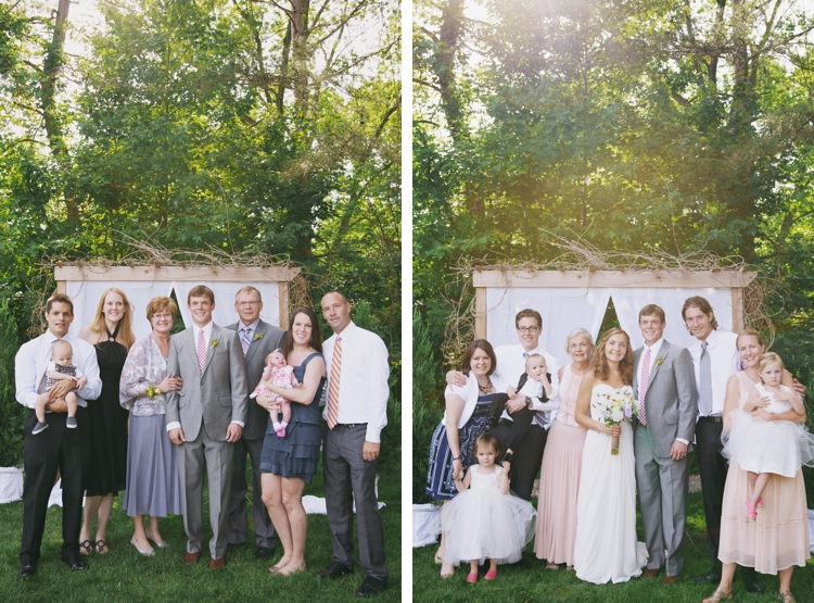 Backyard Cleveland Ohio Wedding
