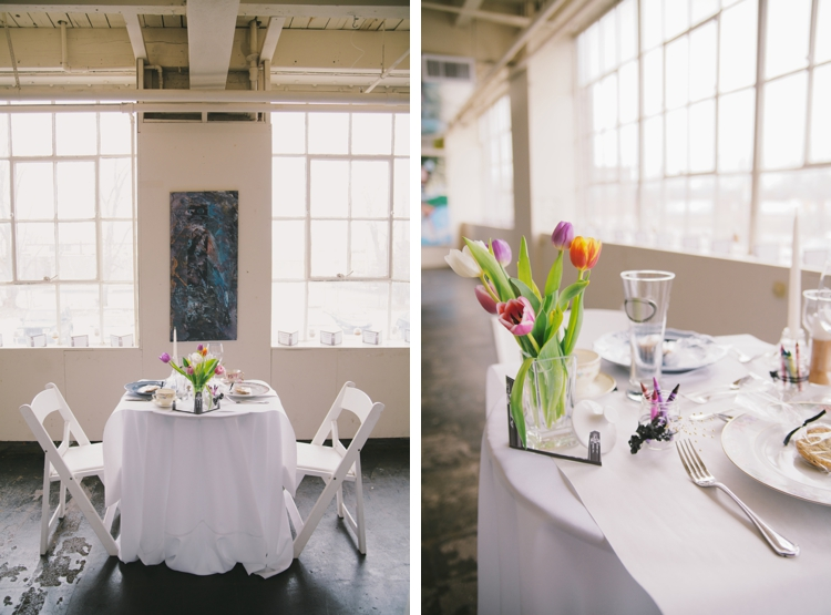 Urban Art Deco Cleveland Wedding