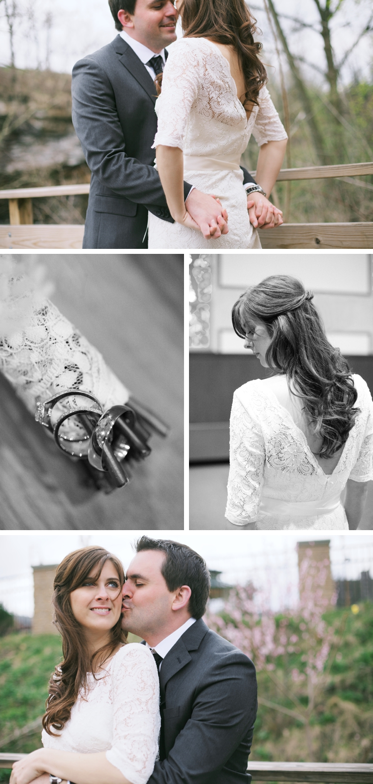 Vintage Akron Spring Wedding
