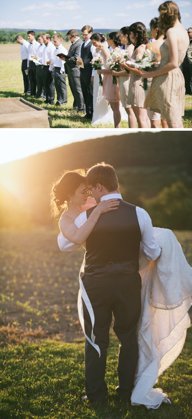 Altoona Pennsylvania Country Wedding
