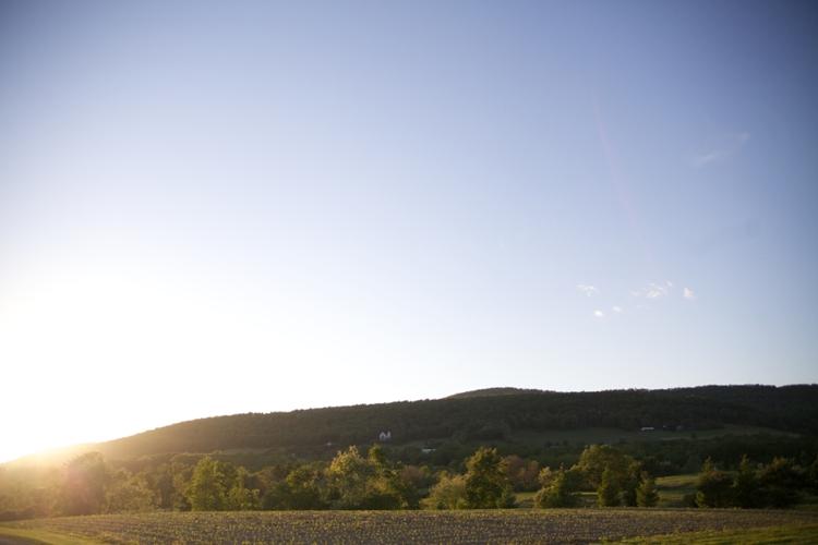 Pennsylvania Countryside Sunset