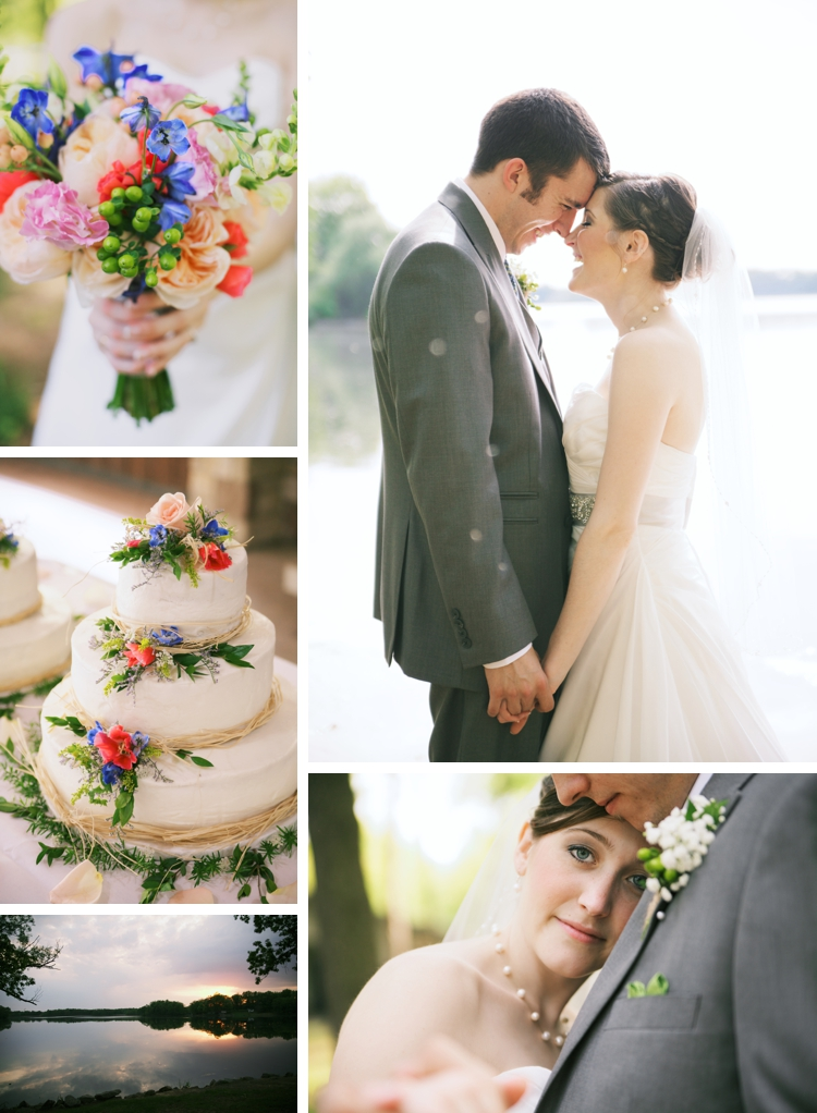 Rustic Akron Spring Wedding