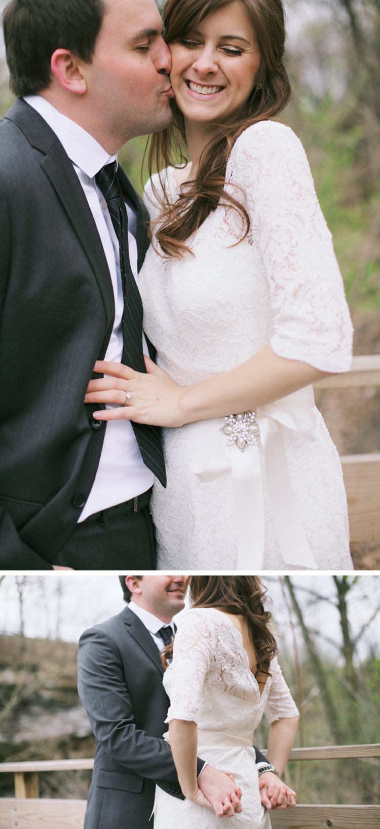Cuyahoga Falls Ohio Spring Wedding