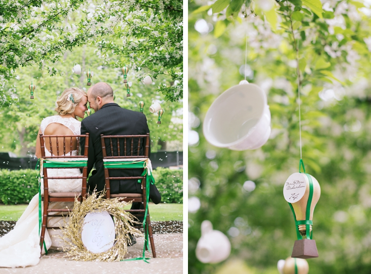 Wizard of Oz Spring Styled Wedding Shoot