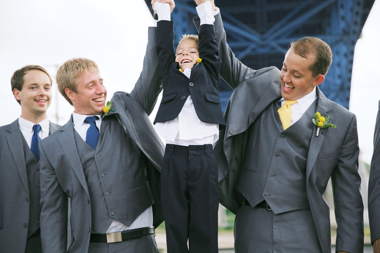 Cleveland Flats Wedding