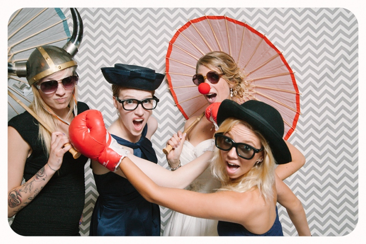 Cleveland Ohio Live Wedding Photobooth