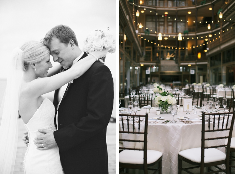 Downtown Cleveland Hyatt Arcade Wedding