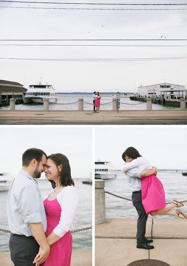 Downtown Sandusky Ohio Engagement Pictures