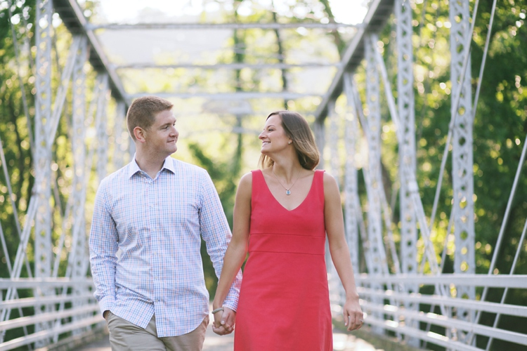 Ohio and Erie Canalway Towpath Engagement Session