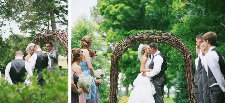 Goodell Gardens Edinboro Pennsylvania Wedding