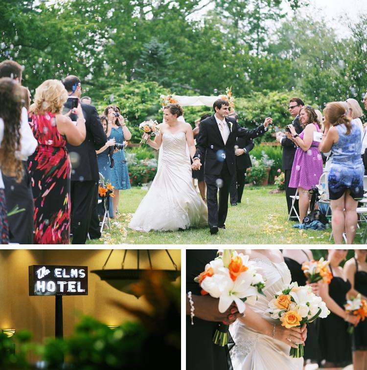 Miami University Formal Gardens Wedding