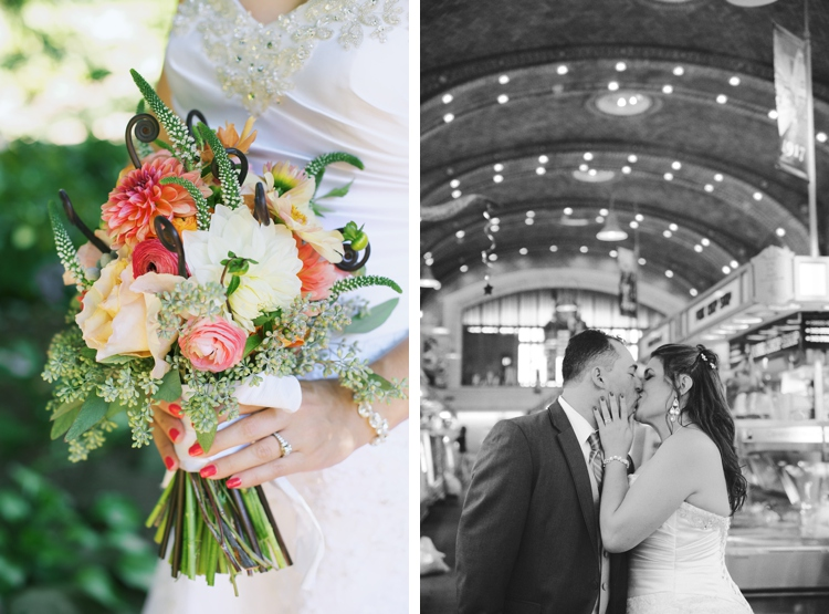 Cleveland West Side Market Wedding