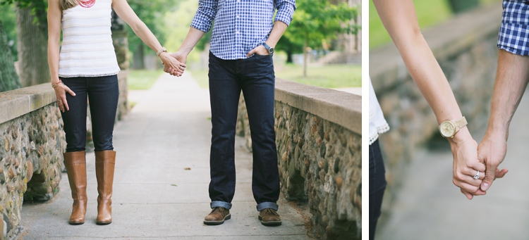 Miami University Oxford Ohio Engagement Session