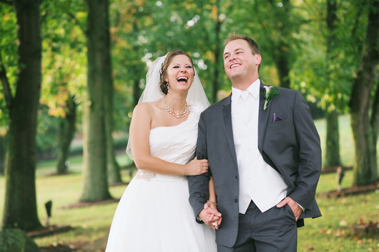 Canton Ohio Outdoor Wedding