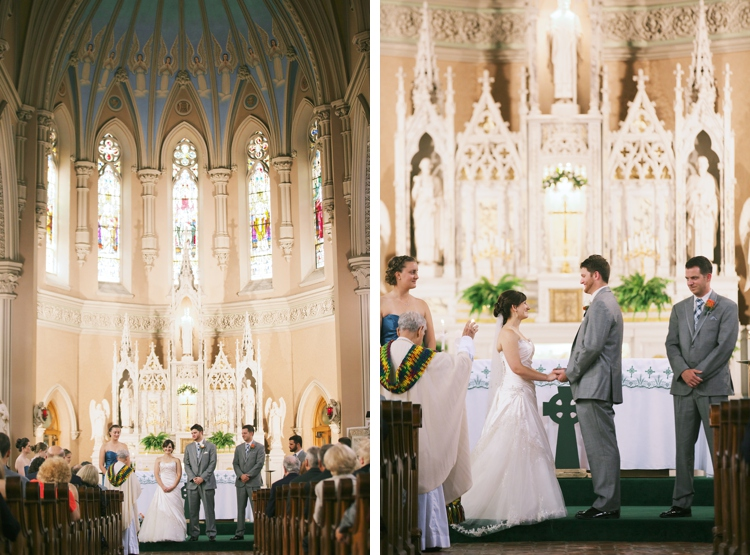 St. Patrick Church Ohio City Wedding