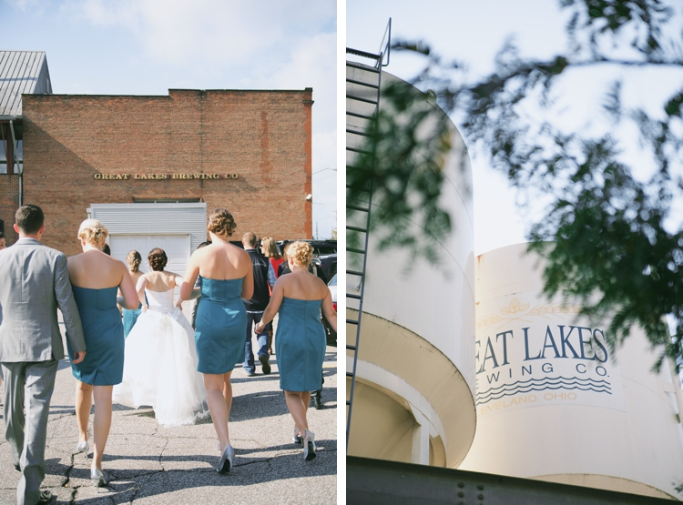Cleveland Great Lakes Brewery Wedding