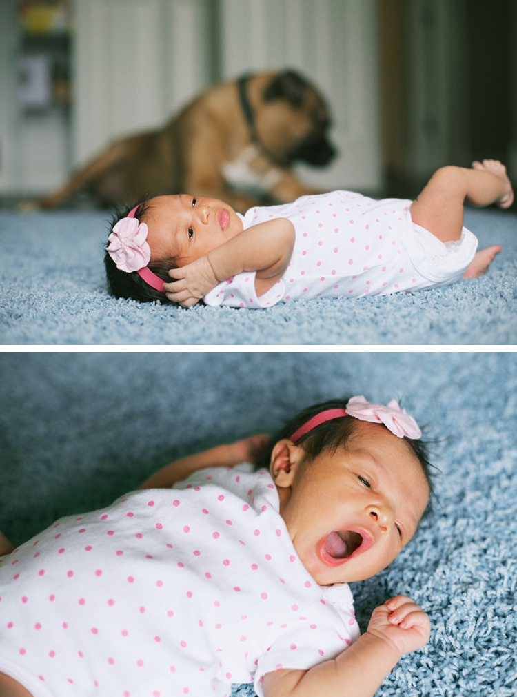 Cleveland Newborn Lifestlye Photos