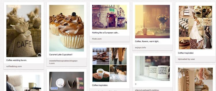 Cafe au Lait Pinboard