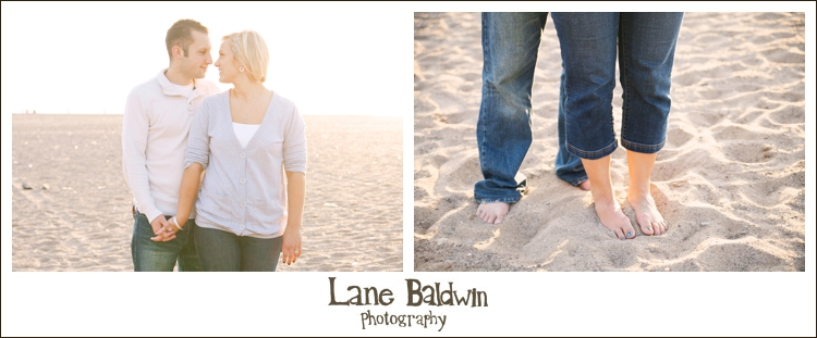 Cleveland Beach Engagement