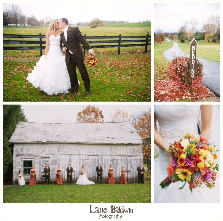 Rustic Canton Wedding