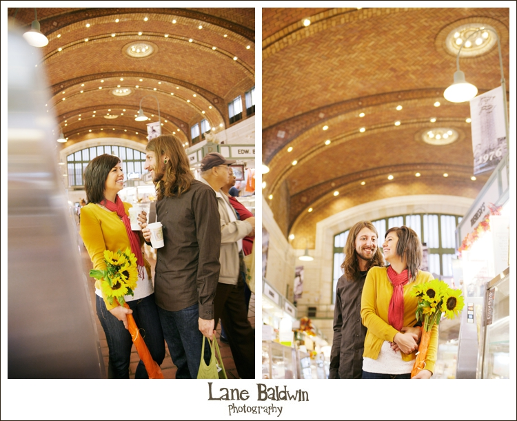 West Side Market Engagement Session