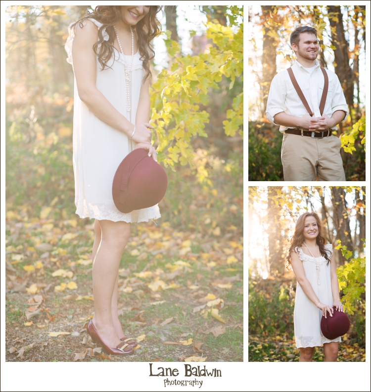 1920s Inspired Engagement Session