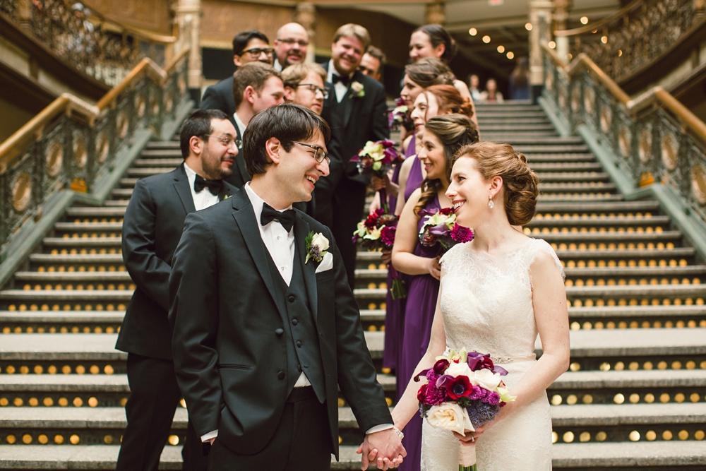 Classic Wedding at Cleveland Hyatt Arcade