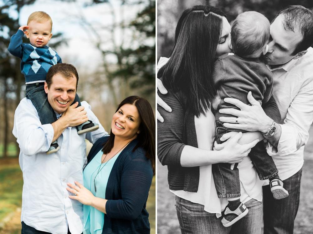 Horseshoe Lake Shaker Heights Family Photos