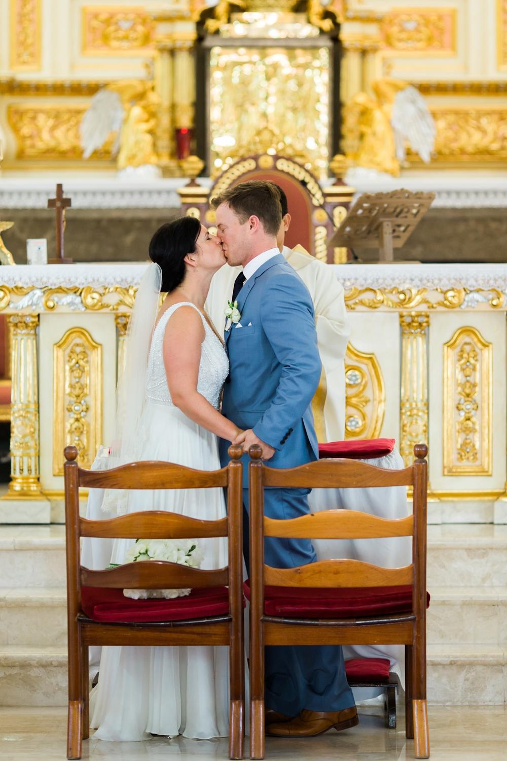 Santa Filomena Catholic Church Aruba Wedding