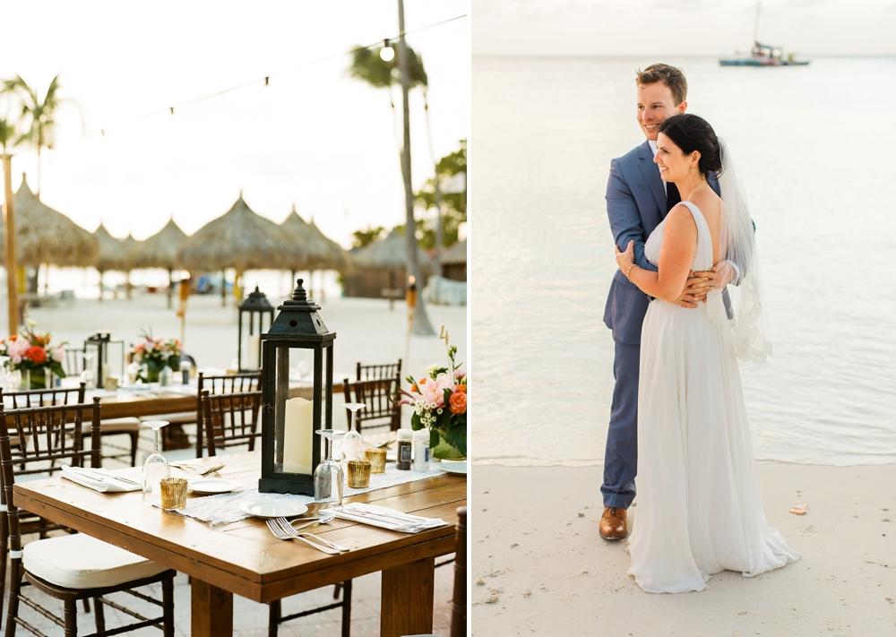 Palm Beach Aruba Wedding