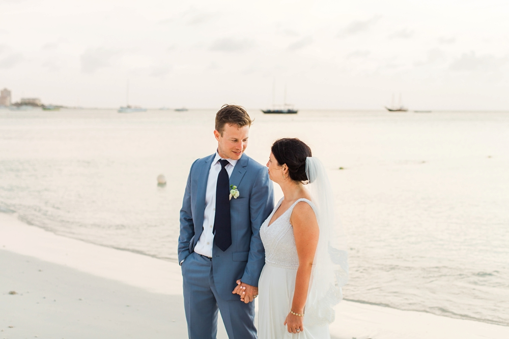 Palm Beach Aruba Wedding