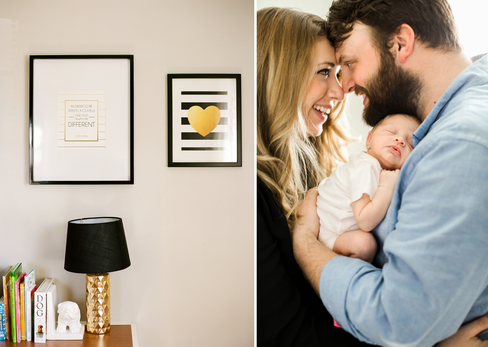 Cleveland Ohio In-Home Baby Photographer