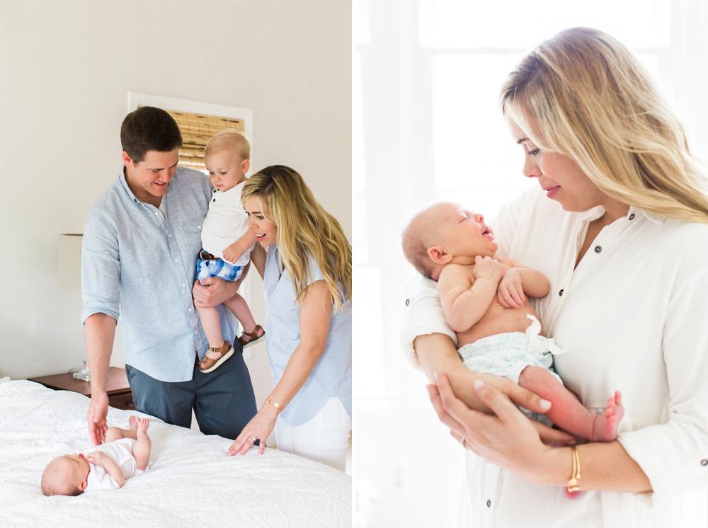 Cleveland Newborn Photos at Home