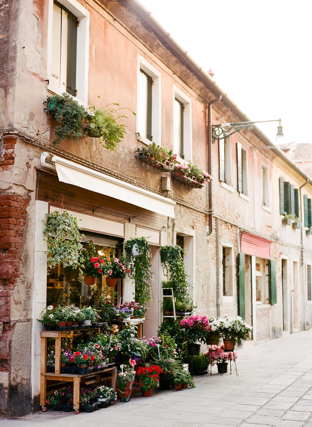 Flower Shop in Venice Italy