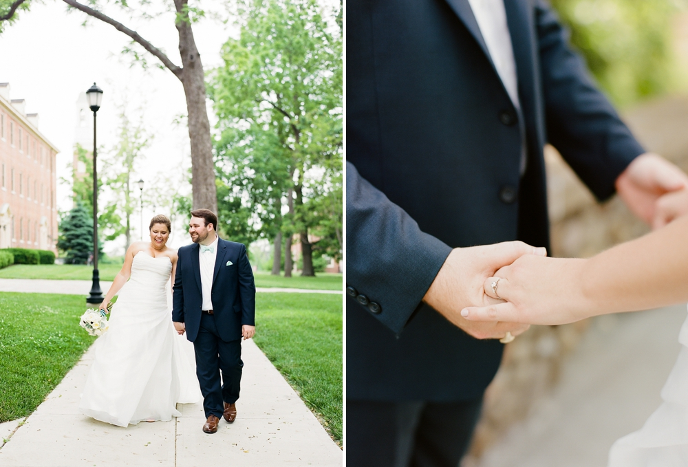 Miami University Wedding Photos