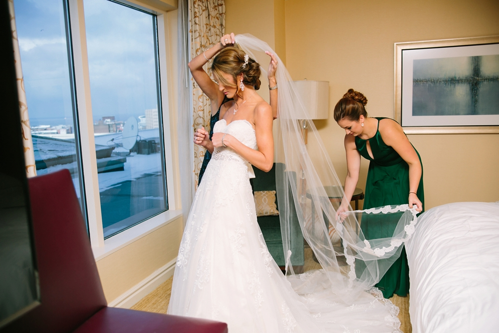 The Ritz-Carlton Cleveland Wedding Photos