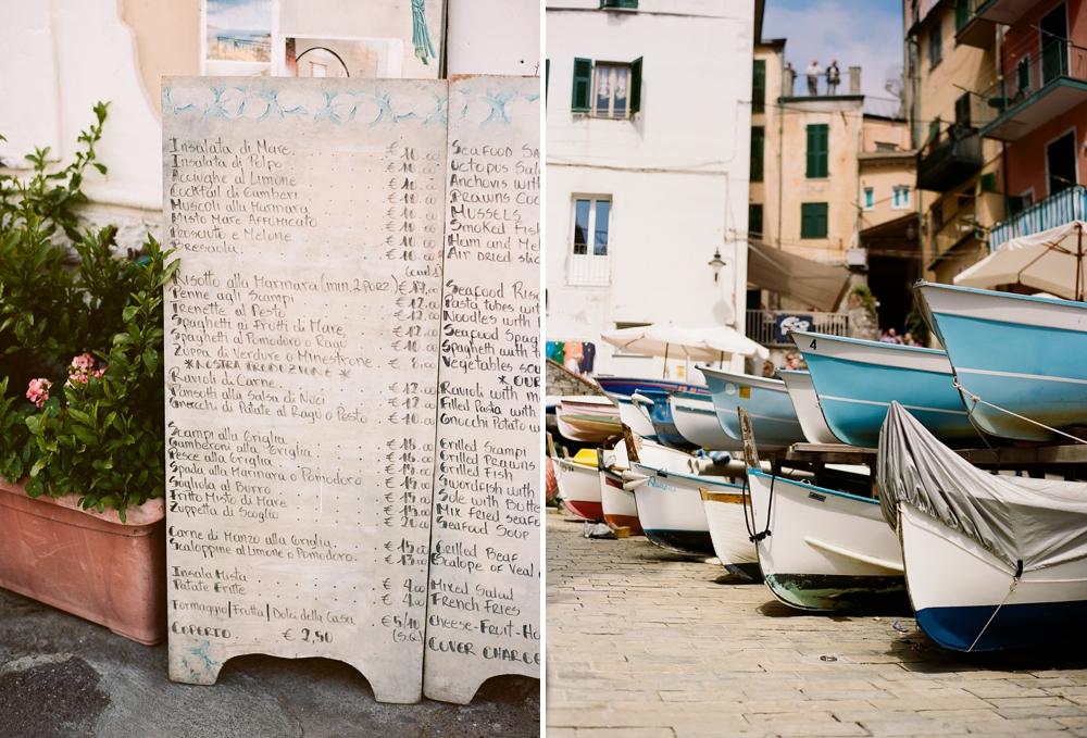 Monterosso al Mare Italy Boats