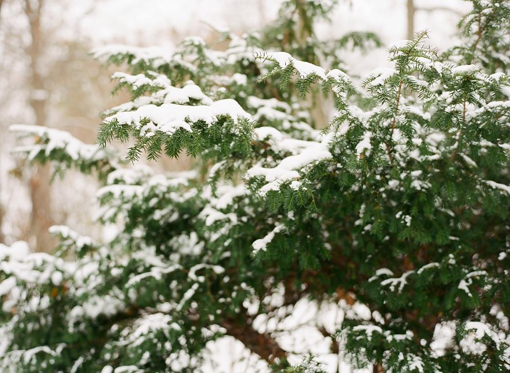 Cleveland Ohio Snowy Winter