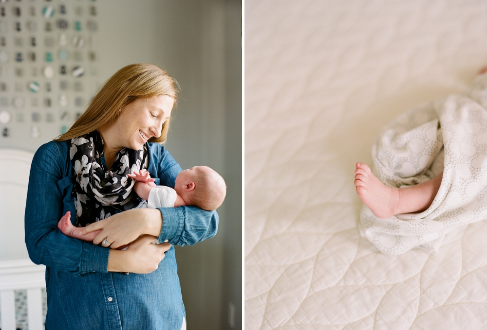 Northeast Ohio Lifestyle Baby Photographer