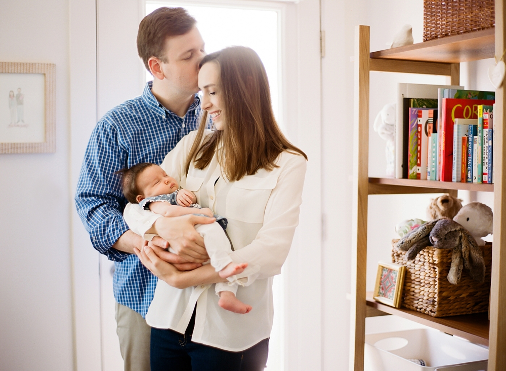 Cleveland Ohio In-Home Baby Photos