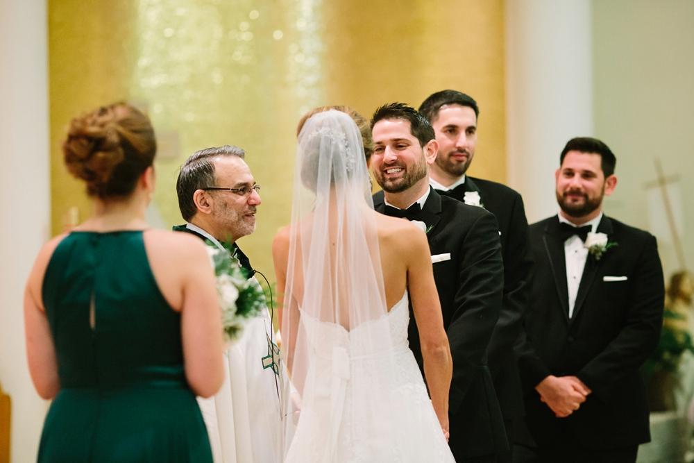 Cleveland Ohio Winter Wedding