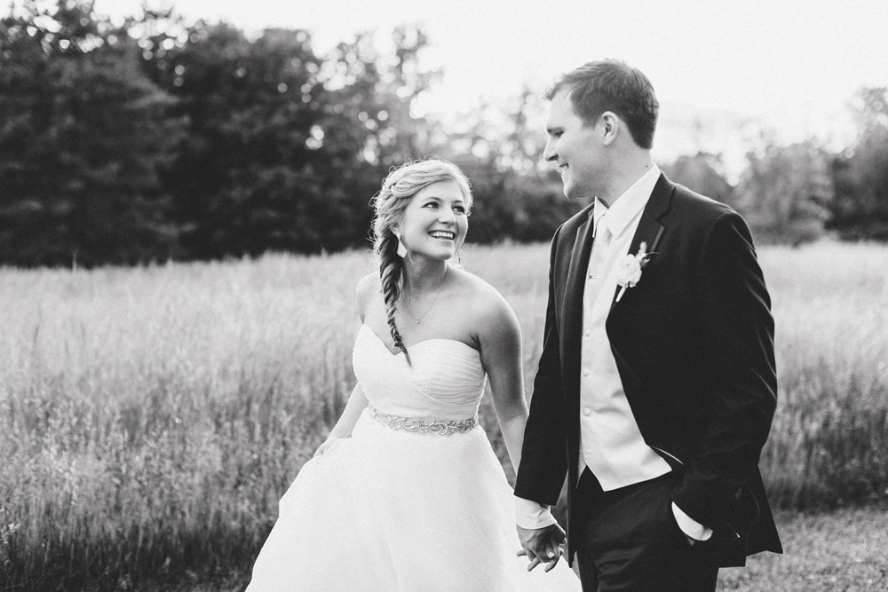 Romantic Cincinnati Ohio Wedding