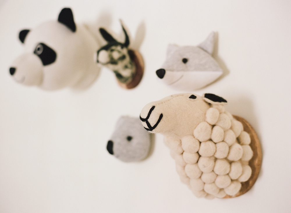 Faux Animal Head Nursery Inspiration