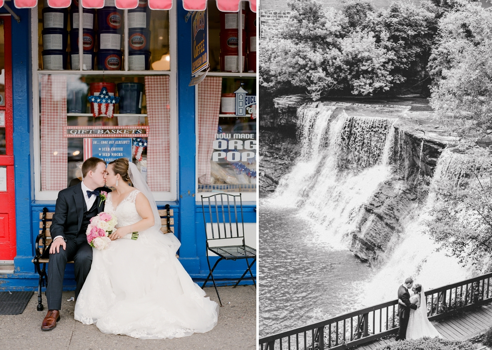Chagrin Falls Ohio Wedding Photos