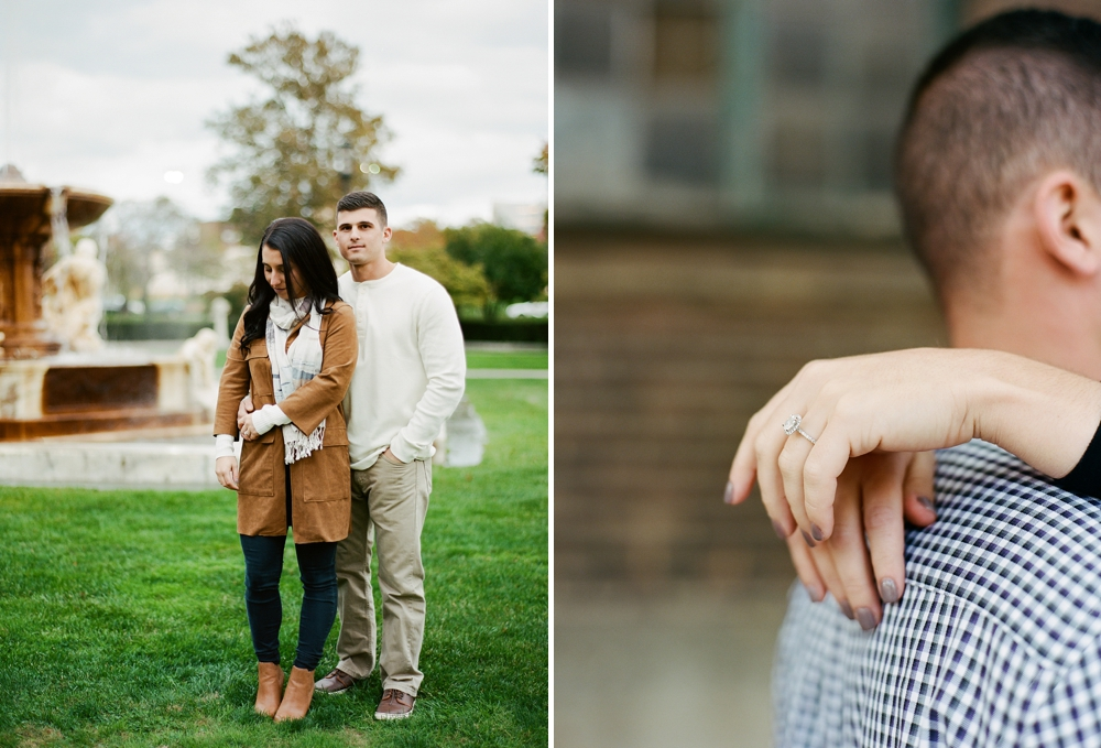 Cleveland Art Museum Engagement Photos