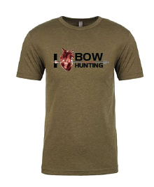 I Love Bow Hunting Tee Large Image.PNG