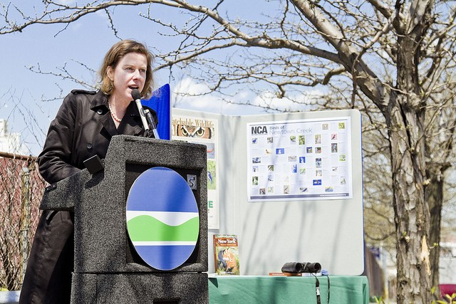 Venetia Lannon, Governor Cuomo's Deputy Secretary for the Environment, will be speaking Friday evening.
